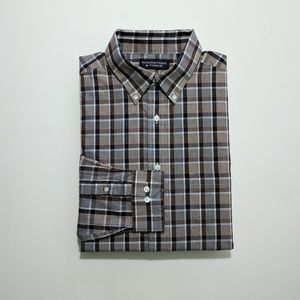 Roundtree & Yorke Men's Dress Shirt XL in great co